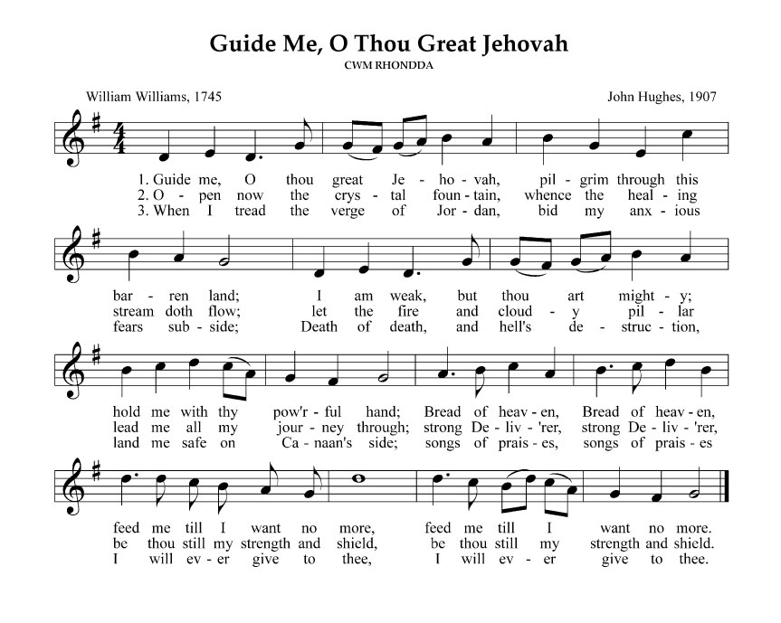 GuideMeOThouGreatJehovah