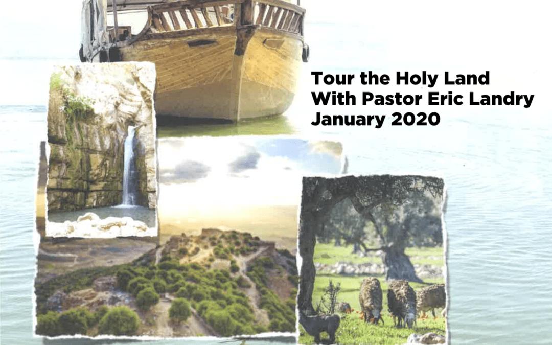 Redeemer Trip to Israel 2020